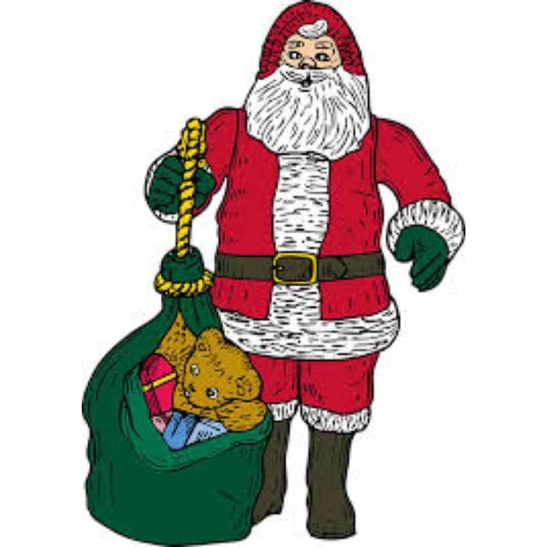 Christmas in July. Budget. Santa.