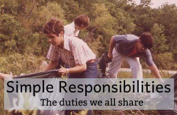 simple responsibilities