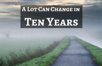 change in ten years