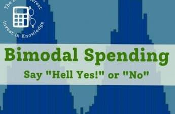 bimodal spending