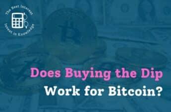 buying the dip bitcoin