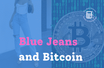 blue jeans and bitcoin